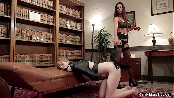 Spanking and whipping lesbian therapy