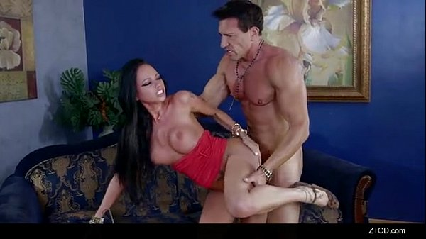 Raven Bay fucks her landlord