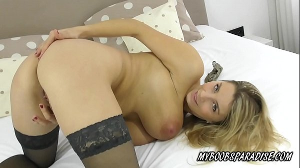 Busty MILF masturbate in sexy lingerie Thumb