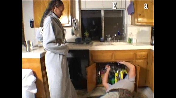 Pantyhose plumber tease kitchen video housewife upskirt