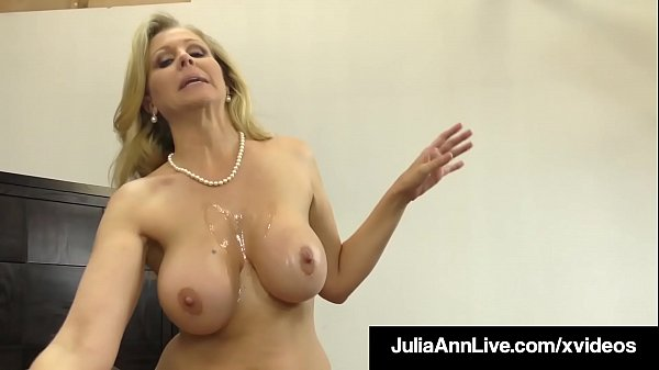 Dick Sucking Cougar Julia Ann Sucks & Strokes L...