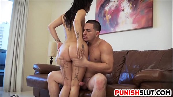 Latin Martini Bows gets her mouth and cunt fucked hard
