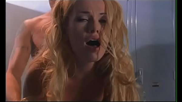 Cute blonde peacherino Ava Vincent turns into reality her fantasies about nasty sex with handsome captain of baseball team at the clothes locker room