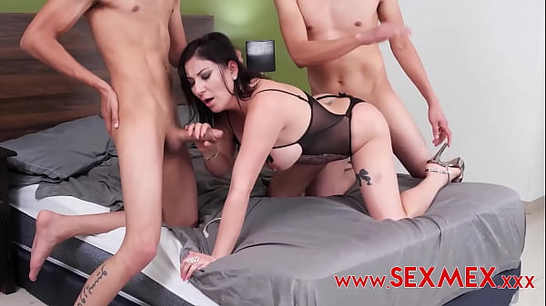 TERESA FERRER - SEDUCING MY FRIEND'S MOM - PART 5 - DOUBLE PENETRATION