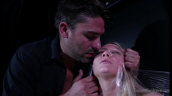 AJ Applegate bound with p. and fucked hard