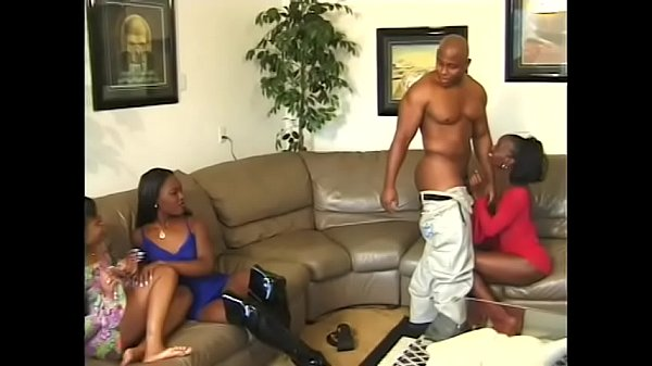 Topaz and her curvy and lusty ebonies girlfriends are ready to anal for hours