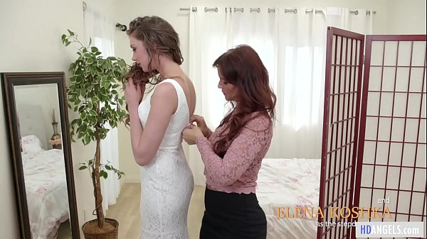 MOMMY'S GIRL - Stepmom helps with the wedding d...