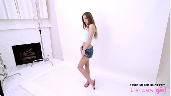 Teen fucked at photoshoot casting audition