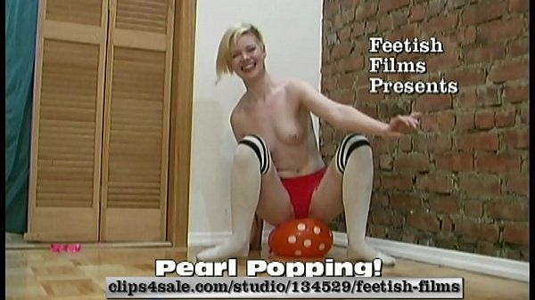 Pearl Sinclair Hot Blonde Popping Balloons