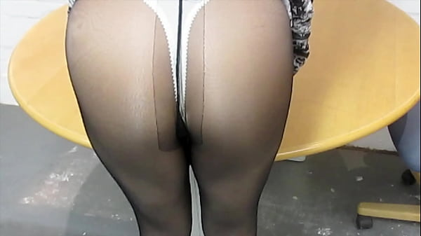Sexy in a pantyhose & thong day