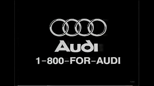 1996 Audi Quattro commercial nylon feet big car dismount