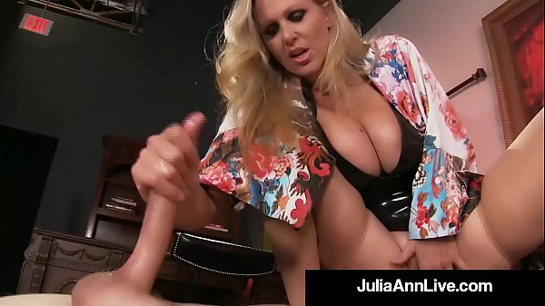 Boy Toy Gets s. By Glamorous Milf Julia Ann's Pussy!