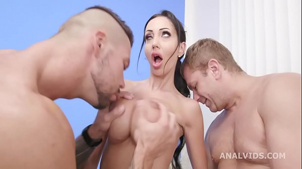 DAP Destination goes Wet, Laura Fiorentino 4on1 Balls Deep Anal and DP, Pee Drink, DAP, ButtRose, Creampie and Swallow GIO1594 Thumb