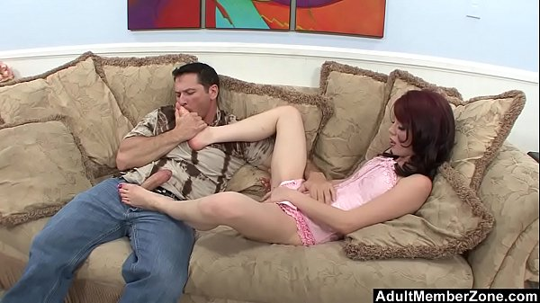 Rough Pounding Ends Up In Feet Cum Licking Thumb