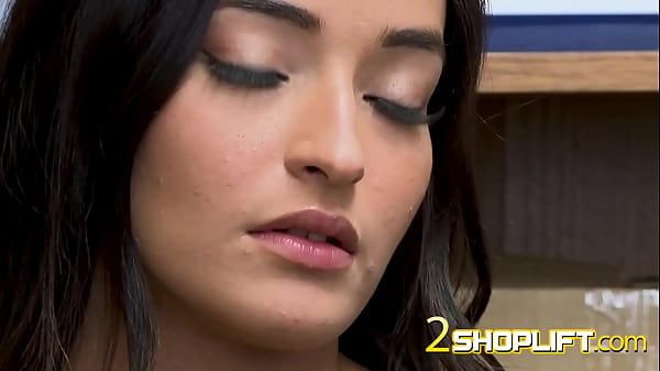 Emily Willis gets her titties played with by horny officer