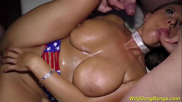 german gangbang with busty milf sexy susi