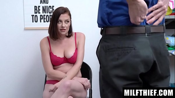 Milf Observed Hiding Items From The Storefront On Her Person, And The Officer Fucks Her - Sovereign Syre Thumb