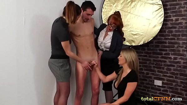 Milfs in Foursome CFNM Sex