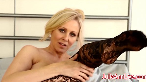 Milf Julia Ann Teases You With Lingerie & Helps...