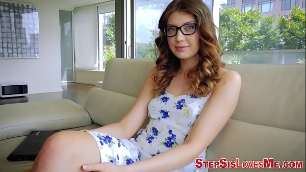 Teen stepsister slam pov
