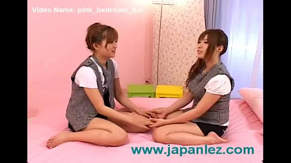 Pink Bedroom Japanese Lesbian Antics