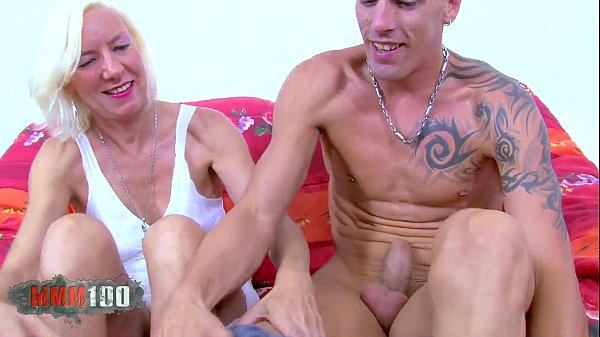 Blond French Mature slut gets banged by spanish porn actor