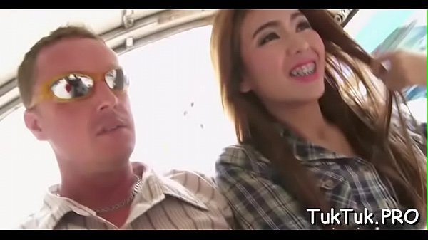 Chap relaxes with a hot thai bitch