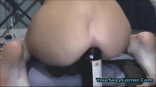 Extreme Beer Bottle Anal And Vaginal Insertion ...