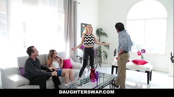 DaugherSwap - Hot Teens (Sierra Nicole) (Taylor Sands) Fuck Dads During Mardis-Gras