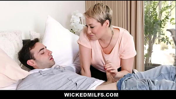 Naughty Stepmom Ryan Keely Shares Stepson Cock With His Girlfriend Thumb