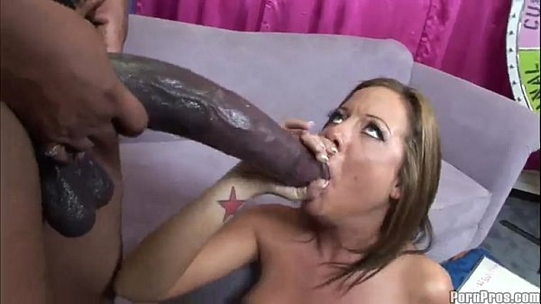 Huge Black Cock Interracial Anal Fuck for Hot Babe