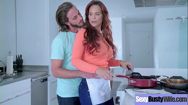 Sexy Housewife (Syren De Mer) With Big Jugss Na...