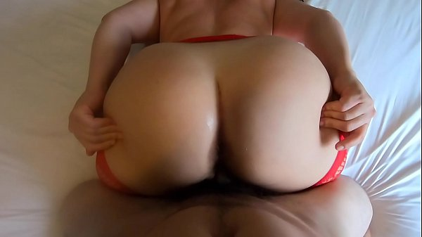 Big Ass in Crotchless Panties for Easy Access