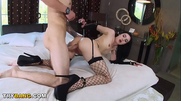 Tattooed PAWG Marley Brinx Taking Anal From Chris Strokes