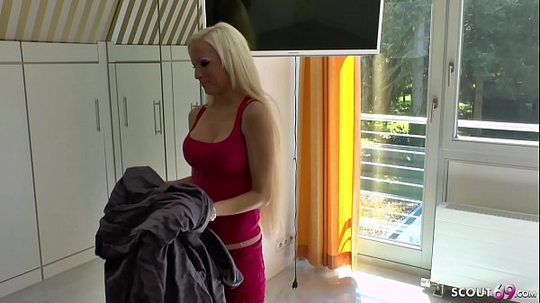 German Sister Tini Seduce to Fuck by own Step Brother