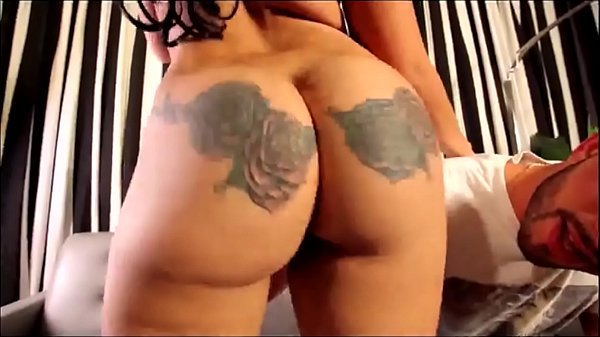 sexy spanish chick with tattoos on her ass making it clap Mirage aka Kash4DatAss