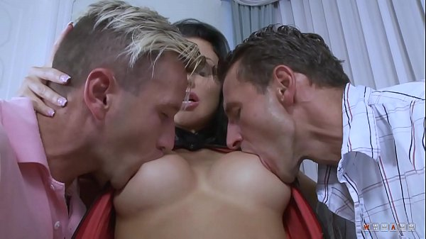 Silicone Hoe Fucked by Two Kinks like they Hated Her