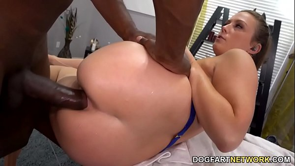 Big ass Febby Twigs Squirts During Anal Sex With A BBC