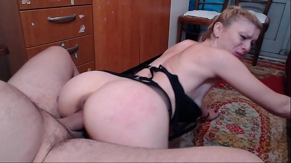 His stepdaughter suck her young father's dick and fuck with him and finish big facial.