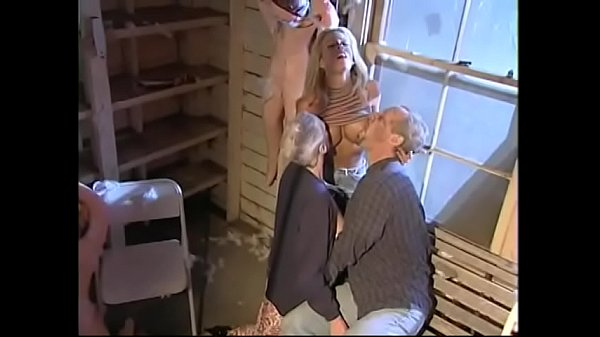 Old couple fantasize licking a busty babe  in the backyard Thumb