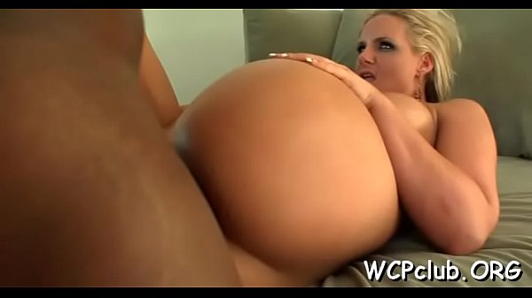 Cutie gives great blow job before feeling penis...