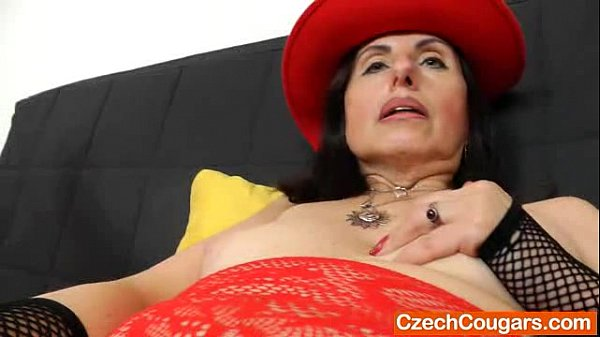 Brunette wife plays plus a adult toy