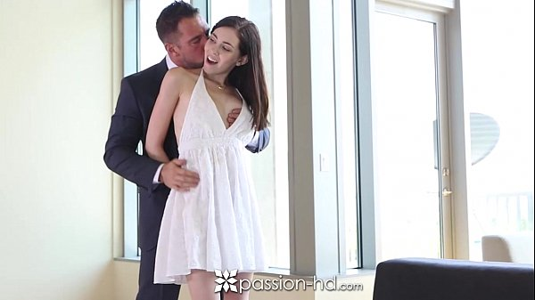 Passion-HD - Sexy brunette Hannah Hartman takes a big dick