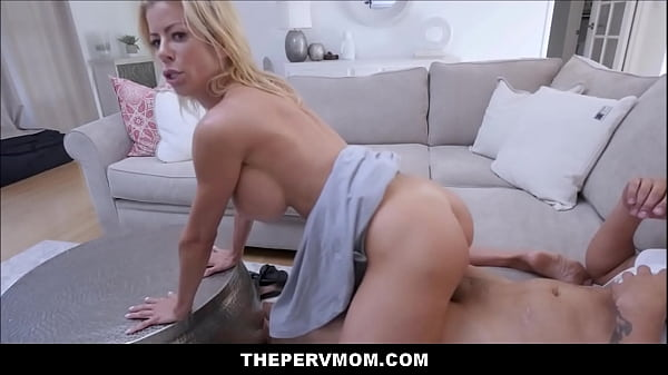 Sexy Big Tits MILF Stepmom Alexis Fawx Has Sex With Stepson In Front Of His Best Friend Thumb