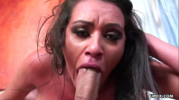 Busty brunette Charlie Chase gives head and gets doggy styled