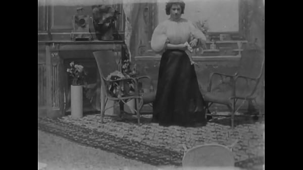 Oldest erotic movie ever made - Woman Undressing (1896) Thumb