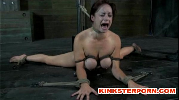 BDSM - Suspension, bonded and wide spread legs, ass and cunt t