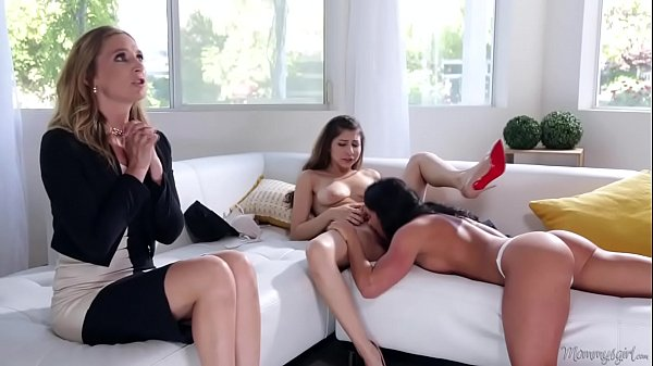 Mommy's little girl is a lesbian! - Nina North, Aspen Rae and Mona Wales