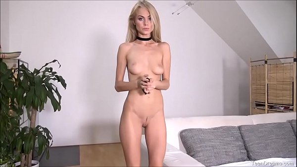 Blonde Teen Nancy Teasing And Finger Fucks