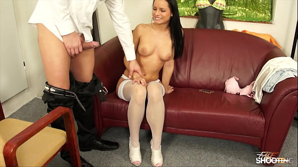 Job interview turn to horny fuck games, facial cumshot included